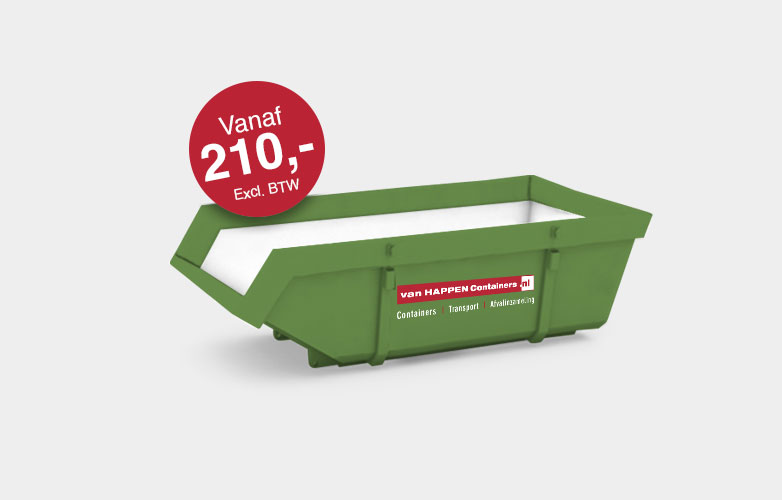 Afvalcontainers Limburg Grofvuil container €210