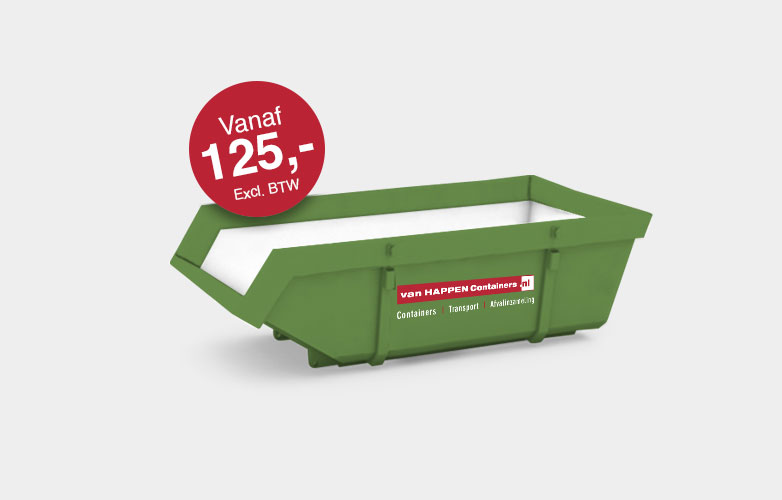 Afvalcontainers Limburg Houtcontainer €125